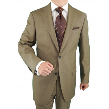 Mens 2 Button Suit Nano Luxury Technolog - Image1