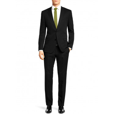 Mens Two Button 2 Piece Slim Fit Ticket  - Image1