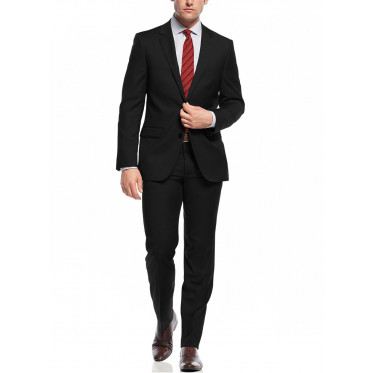Mens Nicoletti Two Button Slim Fit Suit  - Image1