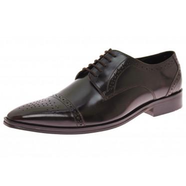 Mens Luciano Natazzi Handmade Leather Sh - Image1