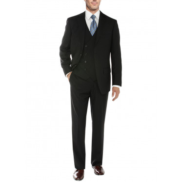 Mens Salvatore Exte Vested Suit Three-Pi - Image1