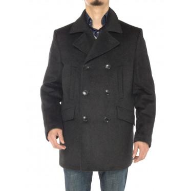 Mens Luciano Natazzi Stylish Wool Top Co - Image1