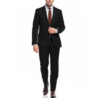 Mens Nicoletti Two Button Slim Fit Suit  - Image1