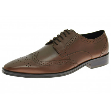 Mens Luciano Natazzi Handmade Leather Sh - Image1