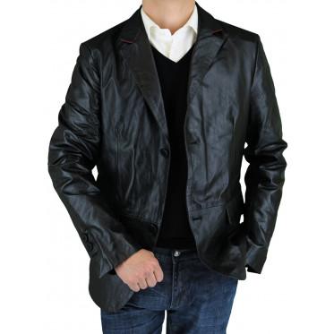 Mens Luciano Natazzi Leather Jacket Mode - Image1