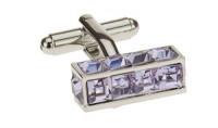 Mens Darya Trading Modern Crystal Cuffli - Image1