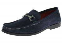 Mens Luciano Natazzi Handmade Suede Leat - Image1