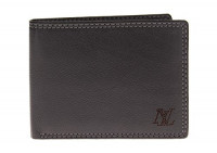 Mens Luciano Natazzi Leather RFID Blocki - Image1