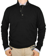Mens Luciano Natazzi Classic Fit Button  - Image1