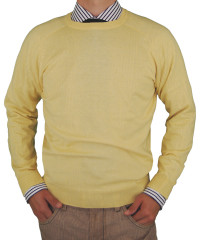 Mens Luciano Natazzi Crew Neck Cotton Sw - Image1