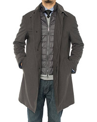 Mens Luciano Natazzi Modern Fit Insulate - Image1