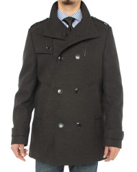 Mens Luciano Natazzi Stylish Top Coat Cl - Image1
