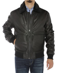 Mens Luciano Natazzi Nappa Leather Fligh - Image1