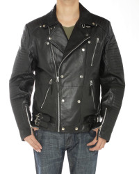Mens Luciano Natazzi Lambskin Leather De - Image1