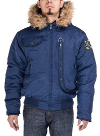 Mens Luciano Natazzi Thermal Padded Hood - Image1