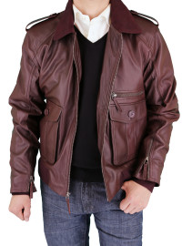 Mens Luciano Natazzi Fine Leather Jacket - Image1