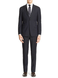 Mens Luciano Natazzi Modern Fit Suit Two - Image1