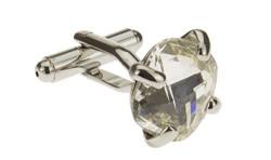 Mens Darya Trading Crystal Cufflinks Hig - Image1