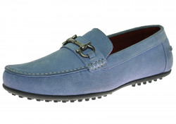 Mens Luciano Natazzi Suede Leather Shoe  - Image1