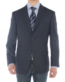 Mens Luciano Natazzi Two Button 160S Woo - Image1