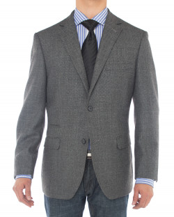 Mens Luciano Natazzi 2 Button 160S Wool  - Image1