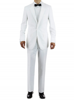 Mens Giorgio Napoli One Button Peak Lape - Image1