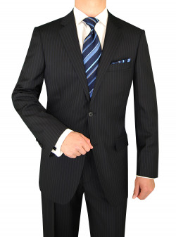 Mens Luciano Natazzi Two Button 160s Can - Image1