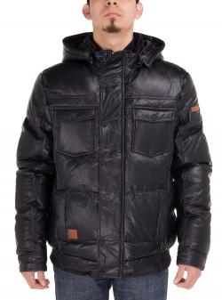 Mens Luciano Natazzi Puffer Coat Tec Rem - Image1