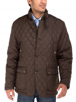 Mens Luciano Natazzi Quilted Puffer Jack - Image1