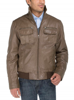 Mens Luciano Natazzi Lambskin Vegetable  - Image1