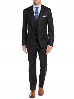 Mens Salvatore Exte 3-piece Suit Set Two - Image1