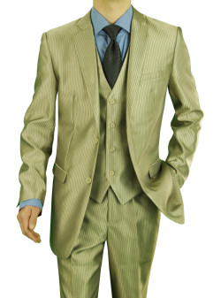 Mens Darya Trading Modern Fit Two Button - Image1
