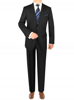 Mens Luciano Natazzi 2 Button Modern Fit - Image1