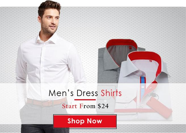 Fashion Suits Outlet Mens Dress Shirt