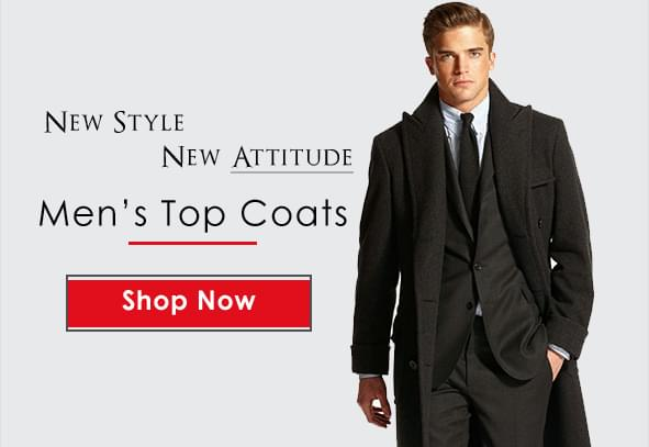 Mens Overcoats & Top Coats
