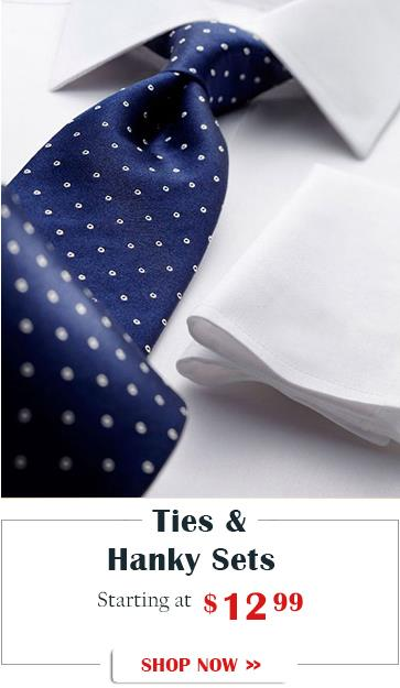 Fashion Suits Outlet Mens Ties and Accessories