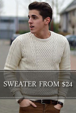 Fashion Suits Outlet Mens Sweater