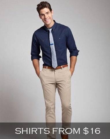 Fashion Suits Outlet Mens Dress Shirts