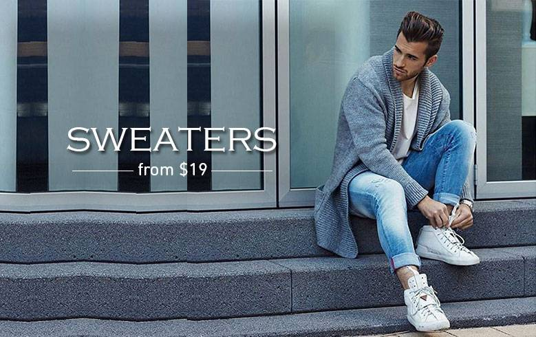 Fashion Suits Outlet Mens Sweaters