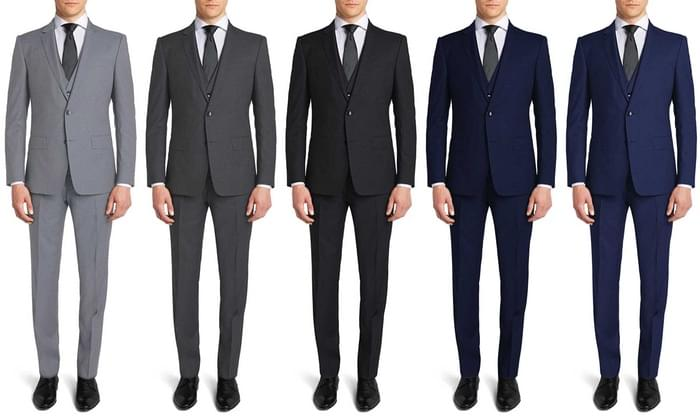 Men's Trim Fit Suits